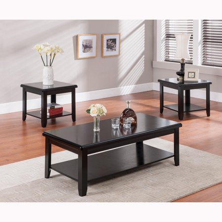 milton green star argos 3 piece coffee and end table set. Black Bedroom Furniture Sets. Home Design Ideas