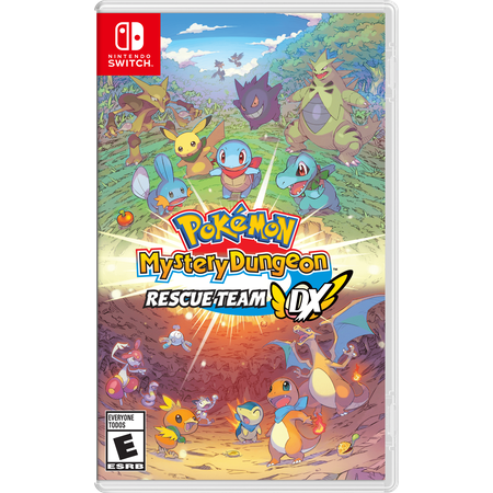 Pokemon Mystery Dungeon: Rescue Team DX, Nintendo, Nintendo Switch, 045496597054 Pokemon Team Rocket 1st Edition