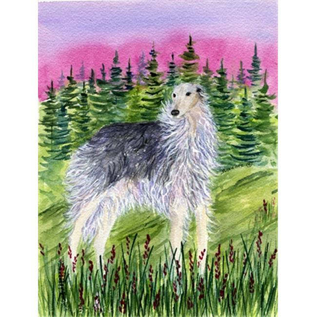 Borzoi Canvas Flag - House Size, 28 x 40 in. - image 1 of 1