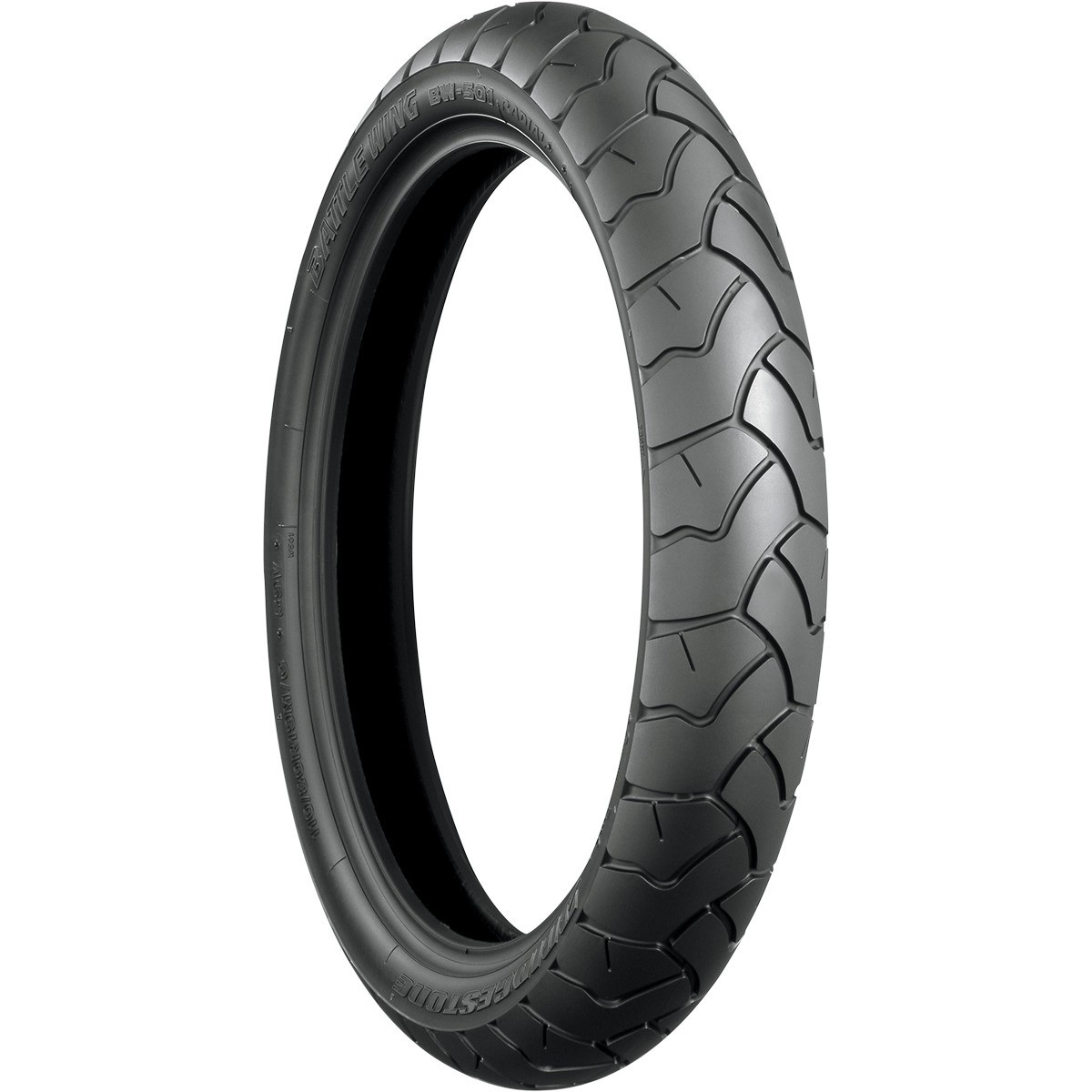 Bridgestone Blackwall Front Tire 110/80R19 Radial for YAM...