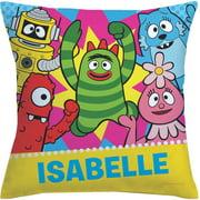 Personalized Yo Gabba Gabba Dance Party Throw Pillow