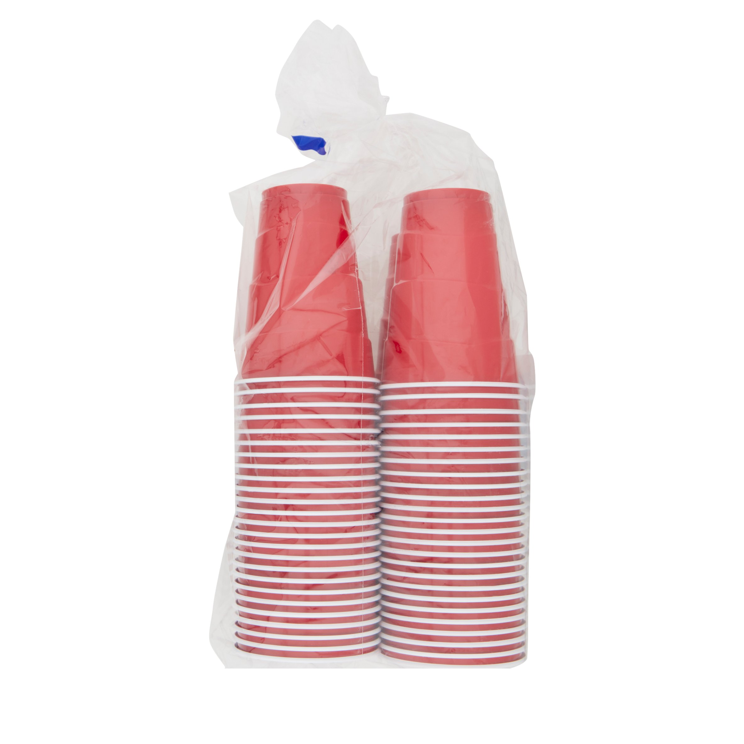 Great Value Party Plastic Cups, 18 oz, 100 Count - Walmart.com