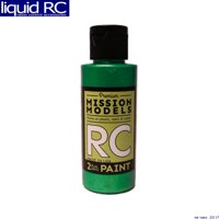 Mission Models MMRC-035 Iridescent Turquoise Water-Based Rc Airbrush Paint 2oz