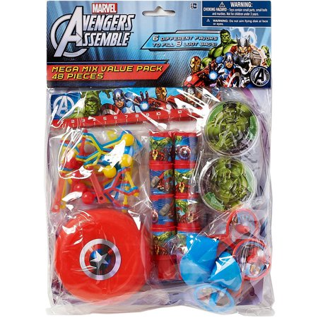 Marvel Avengers Party Favor Pack, Value Pack, Party Supplies