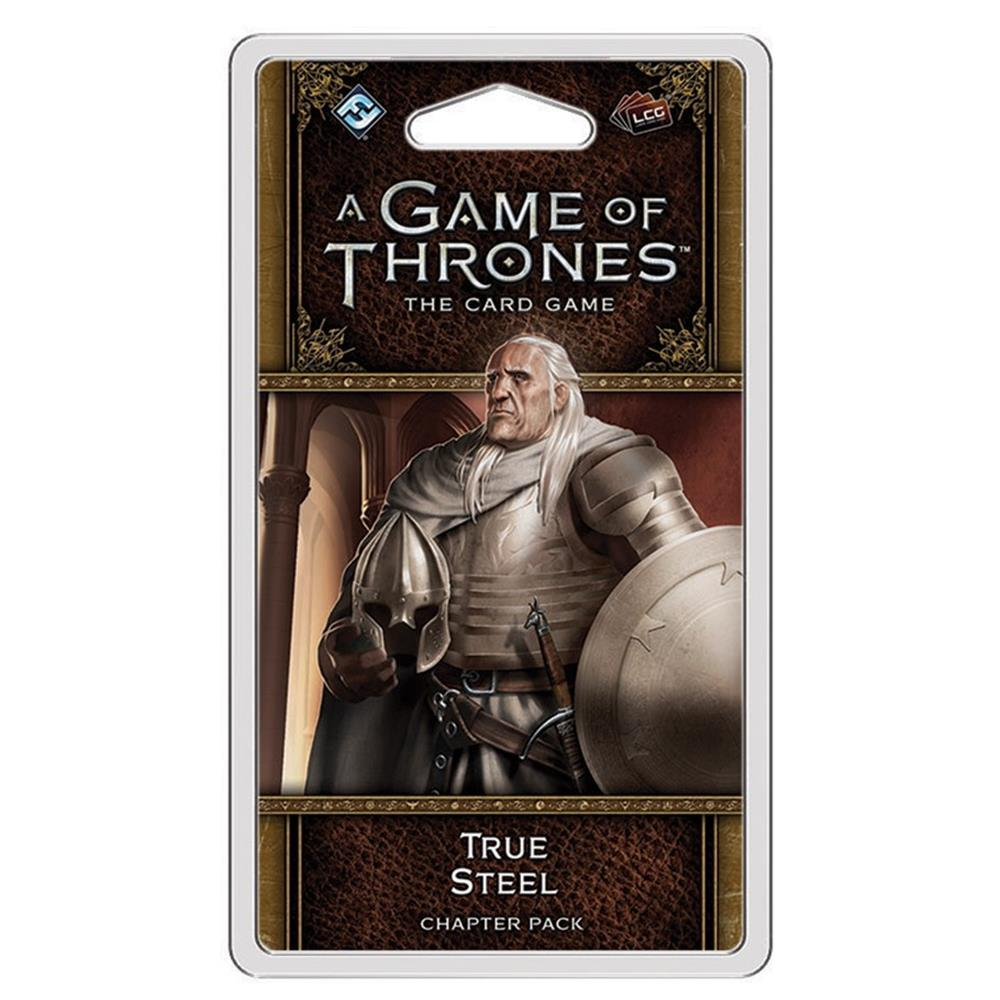 GoT: LCG: True Steel 2E A Game of Thrones LCG 2nd Edition: Card Game Fantasy Flight Games GT07