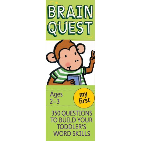 My First Brain Quest: 350 Questions and Answers to Build Your Toddlers Word Skills - Build A Word