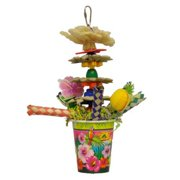 A and E Cage Co. Tropical Punch Cockatiel Bird Toy