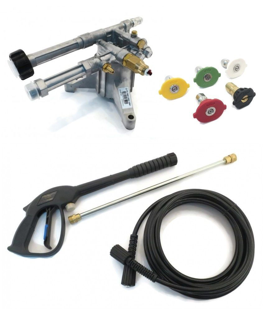2400 psi AR PRESSURE WASHER PUMP & SPRAY KIT Troy Bilt Husky Briggs & Stratton by The ROP Shop by Annovi Reverberi
