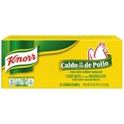 (4 pack) Knorr Cube Bouillon Chicken 9.3 oz, 24 ct