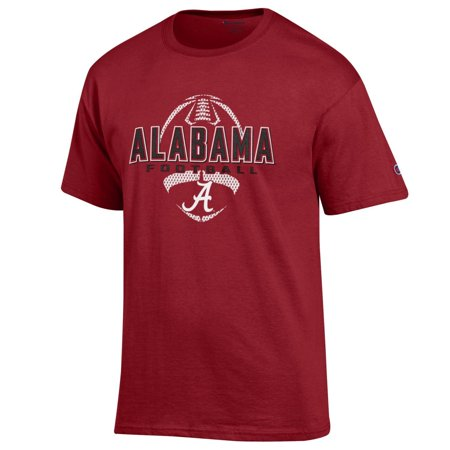 Alabama Crimson Tide Football T shirt NCAA by Champion cardinal red ...