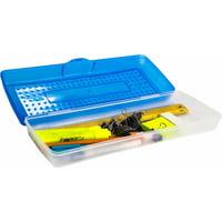 Storex Plastic Pencil Box, Case of 12