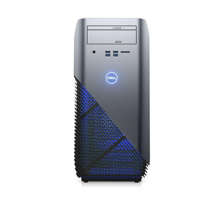 eac06bad24e Dell Gaming Desktop Inspiron, AMD Ryzen 7 1700X, 3.8 GHZ, AMD Radeon RX 570  4GB GDDR5 Graphic Card, 12GB DDR4 Memory, 1TB 128GB SSD, i5675-A988BLU ...