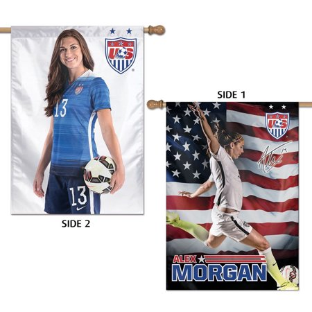 Alex Morgan US Soccer House - Soccer Banners