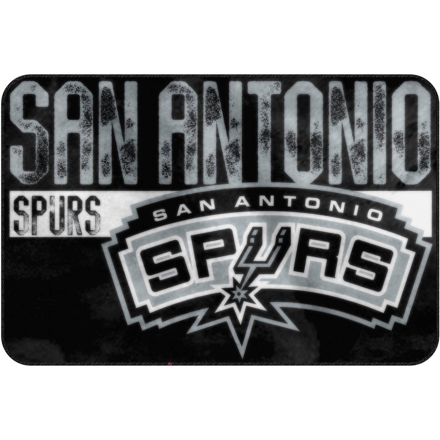 "NBA San Antonio Spurs 20"" x 30"" ""Worn Out"" Mat, 1 Each"