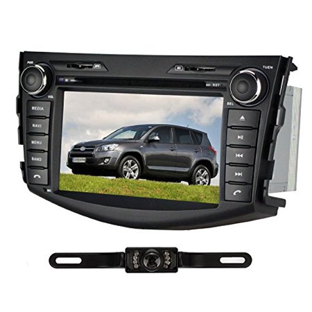 Pumpkin 7 Inch In Dash HD Touch Screen Car DVD Player FM AM Radio Stereo Navigation For Toyota Rav4 2006-2011... by