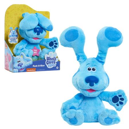 Blue's Clues & You! Peek-A-Blue, 10-inch feature plush, Ages 3 +