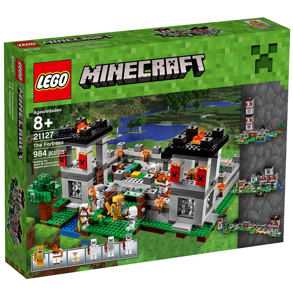 Lego 21127 Minecraft The Fortress by