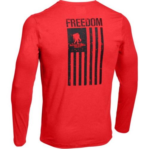 Under Armour 1268763984XL Ua Wwp Freedom Flag Ls Tee, Roc...