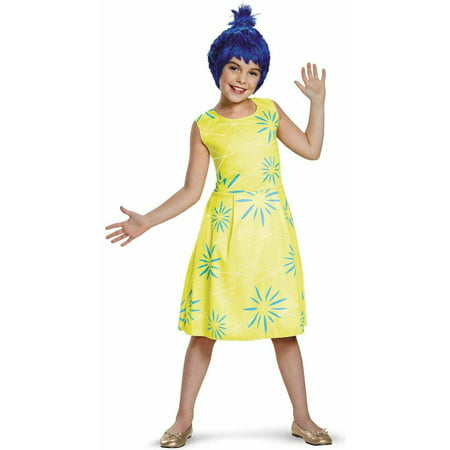 Disney Inside Out Classic Joy Child Halloween Costume - Classic Disney Halloween Specials