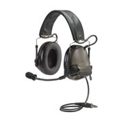 3M Peltor ComTac III Electronic Headset FB Single Comm NATO Olive Drab MT17H682F