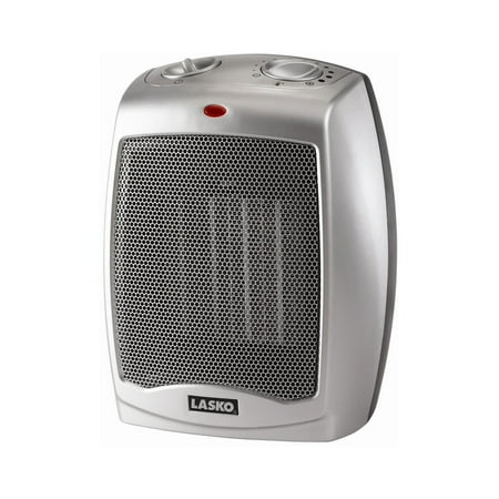 C70 Heater (Lasko Electric Ceramic Heater, 1500W, Silver, 754200)