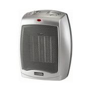 Lasko Electric Ceramic Heater, 1500W, Silver, 754200