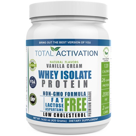 Total Activation Whey Protein Isolate Vanilla 26g Protein 14 82 Oz