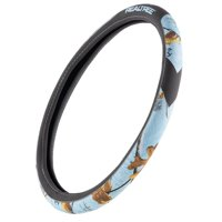 Realtree MicroBow & Bridger Steering Wheel Cover | Ice Blue/Realtree XTRA