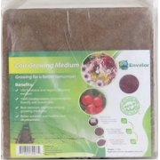Envelor Home and Garden Organic Coco Block Coir Brick 10 Lbs. Coconut Fiber Growing Medium Potting Soil Mix Coco Peat Media Coir Pith Indoor Outdoor Planters Raised Vegetable Garden Beds Greenhouses