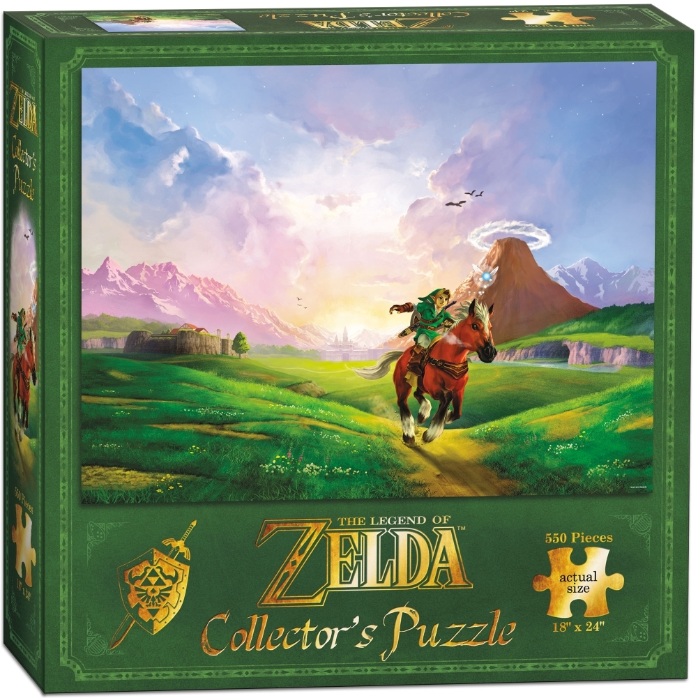 Legend of Zelda Links Ride 550 Piece Puzzle