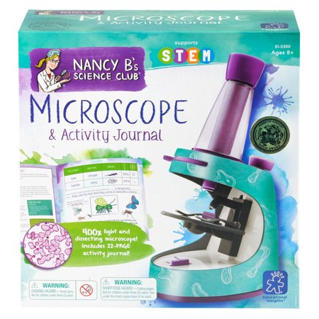 Science Toys (Educational Insights Nancy B's Science Club Microscope and Activity)