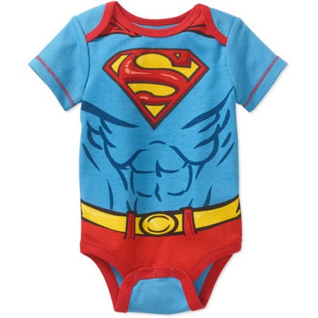Superman Newborn Baby Boys' Bodysuit