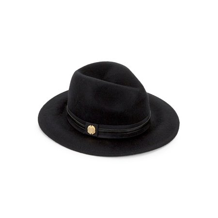 22b4156d0 Vince Camuto - Banded Wool Panama Hat - Walmart.com
