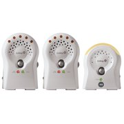 Safety 1st Sure Glow Portable Audio Baby Monitor, White