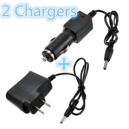 Smart Rechargeable 18650 Battery AC 100-240V + Car Charger DC 12V for Flashlight Headlamp Torch