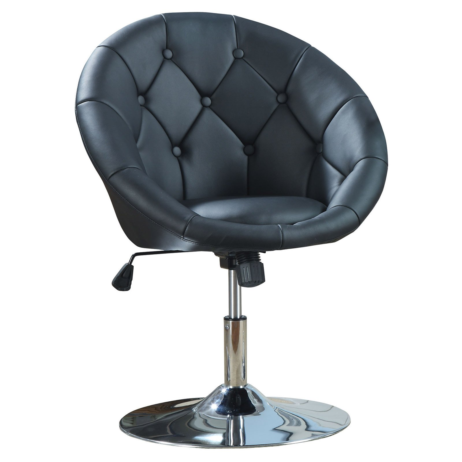 Coaster Company Accent Chair In Black Leatherette