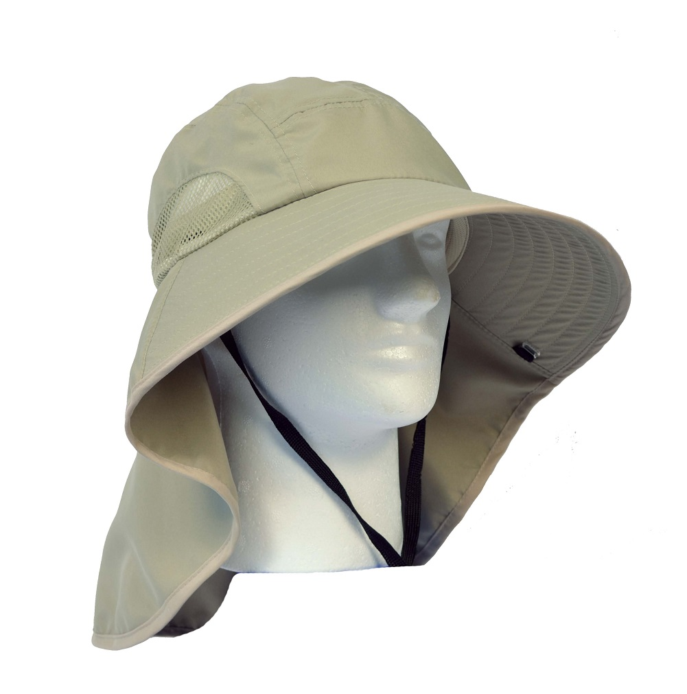 29603b3b Sun Blocker Outdoor Sun Protection Fishing Cap with Neck Flap, Wide Brim  Sun Hat for Travel Camping Hiking Hunting Boating Safari Cap with  Adjustable ...