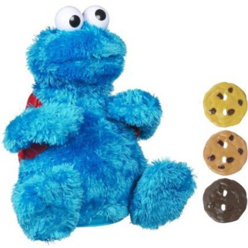 Sesame Street Playskool Count 'N Crunch Cookie Monster
