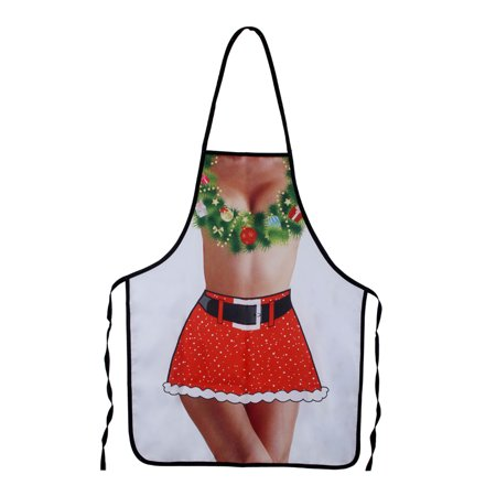 NK Christmas Theme Apron Party Adults Women Men for BBQ Cooking Kitchen Supplies (Themes For Parties For Adults)