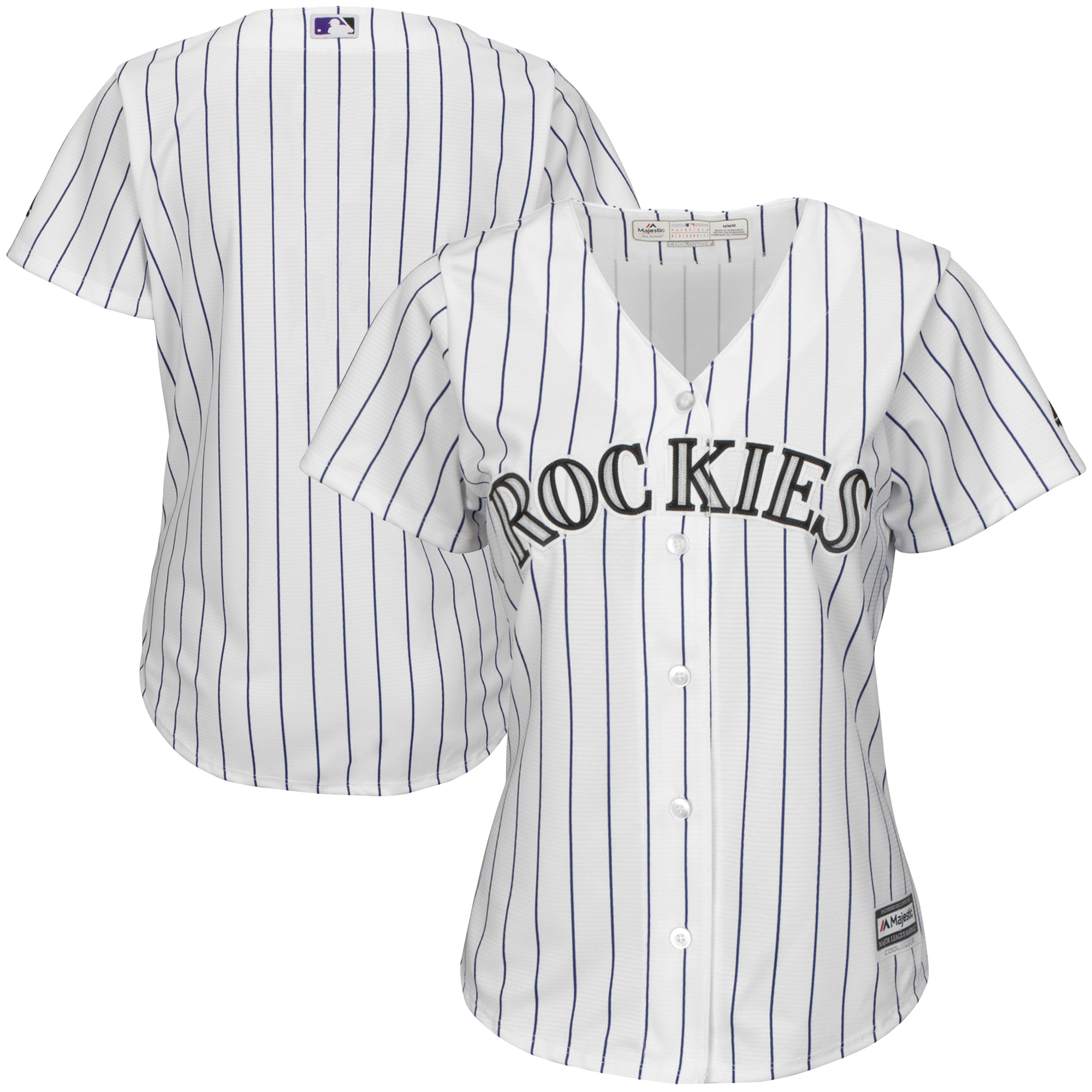 522b10835 ... france product image colorado rockies majestic womens home cool base  team jersey white purple e415e 217e5