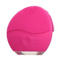 Electric Facial Cleanser Deep Cleaning USB Rechargeable Silicone Beauty Massage Instrument Cleansing Brush Face Cleaning Tool
