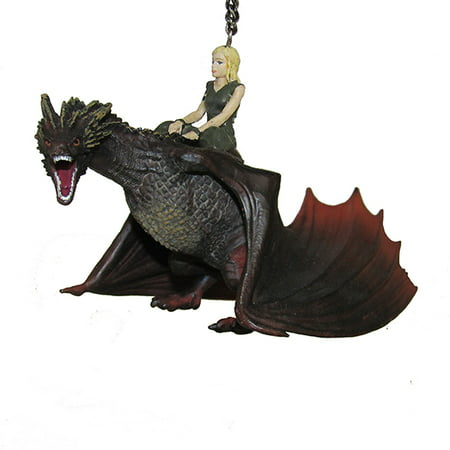 Game Of Thrones Daenerys & Drogon Dragon Holiday Tree Ornament - 5