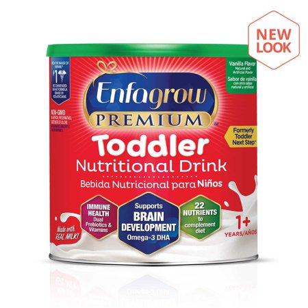 Enfagrow Premium Toddler Nutritional Drink, Vanilla Flavor - Powder, 24 oz (Baby Brezza Formula Pro One Step Food Maker)