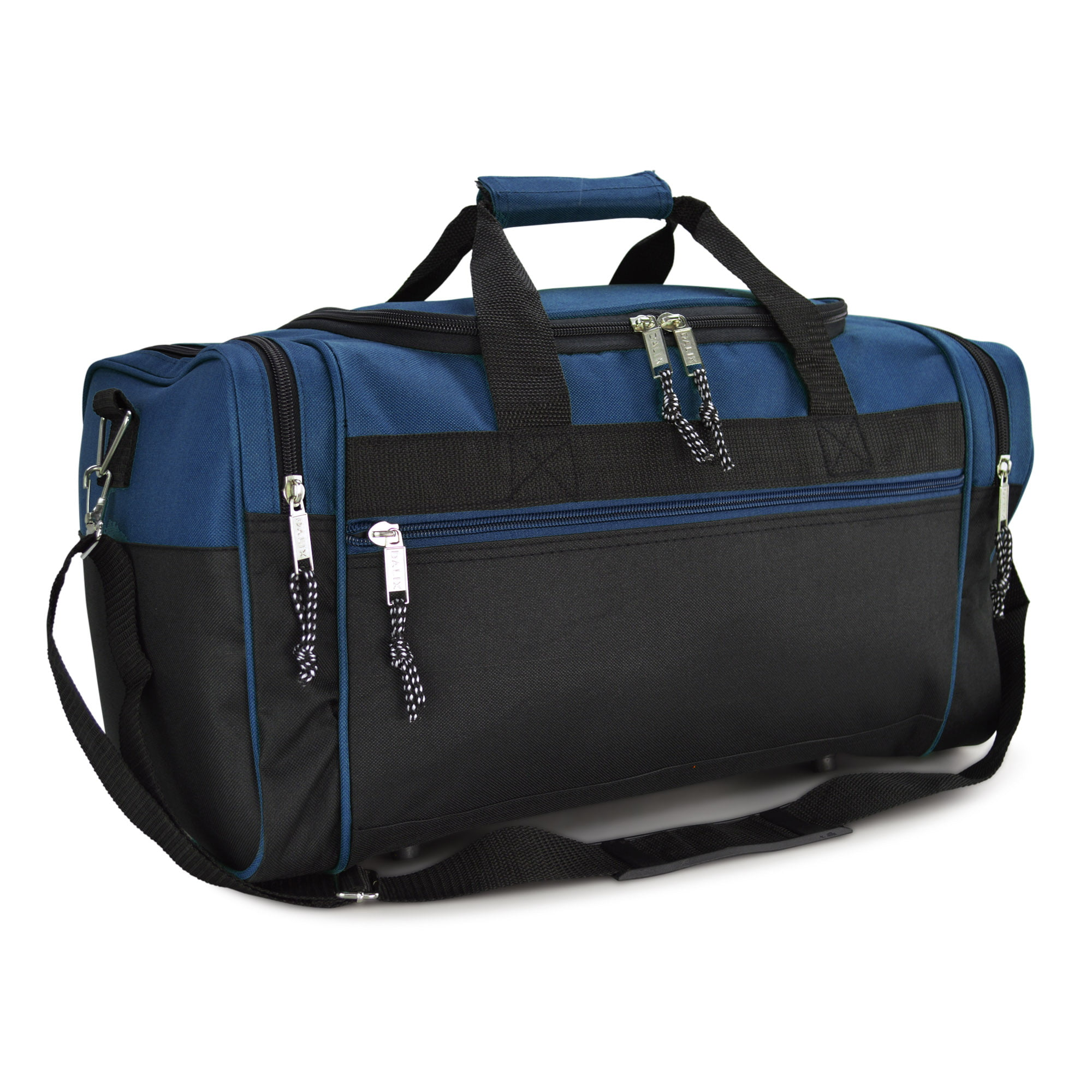 "DALIX 21"" Blank Sports Duffle Bag Gym Bag Travel Duffel with Adjustable Strap in Royal Blue by DALIX"
