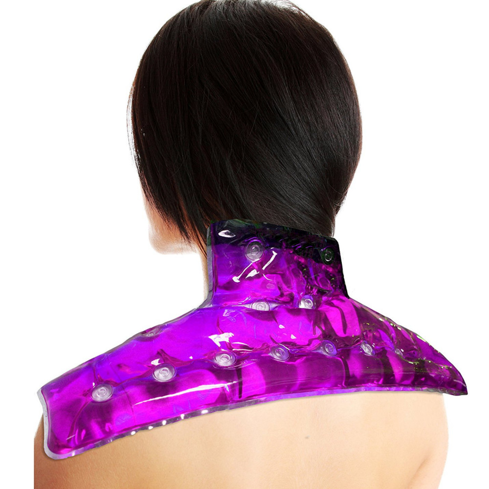Non Toxic Hot/Cold Therapy Neck and Shoulder Wrap for Pain, Muscle, Stress Relief