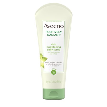 Aveeno Positively Radiant Skin Brightening Exfoliating Face Scrub 7 oz ()