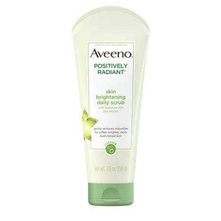 Aveeno Positively Radiant Skin Brightening Exfoliating Face Scrub 7