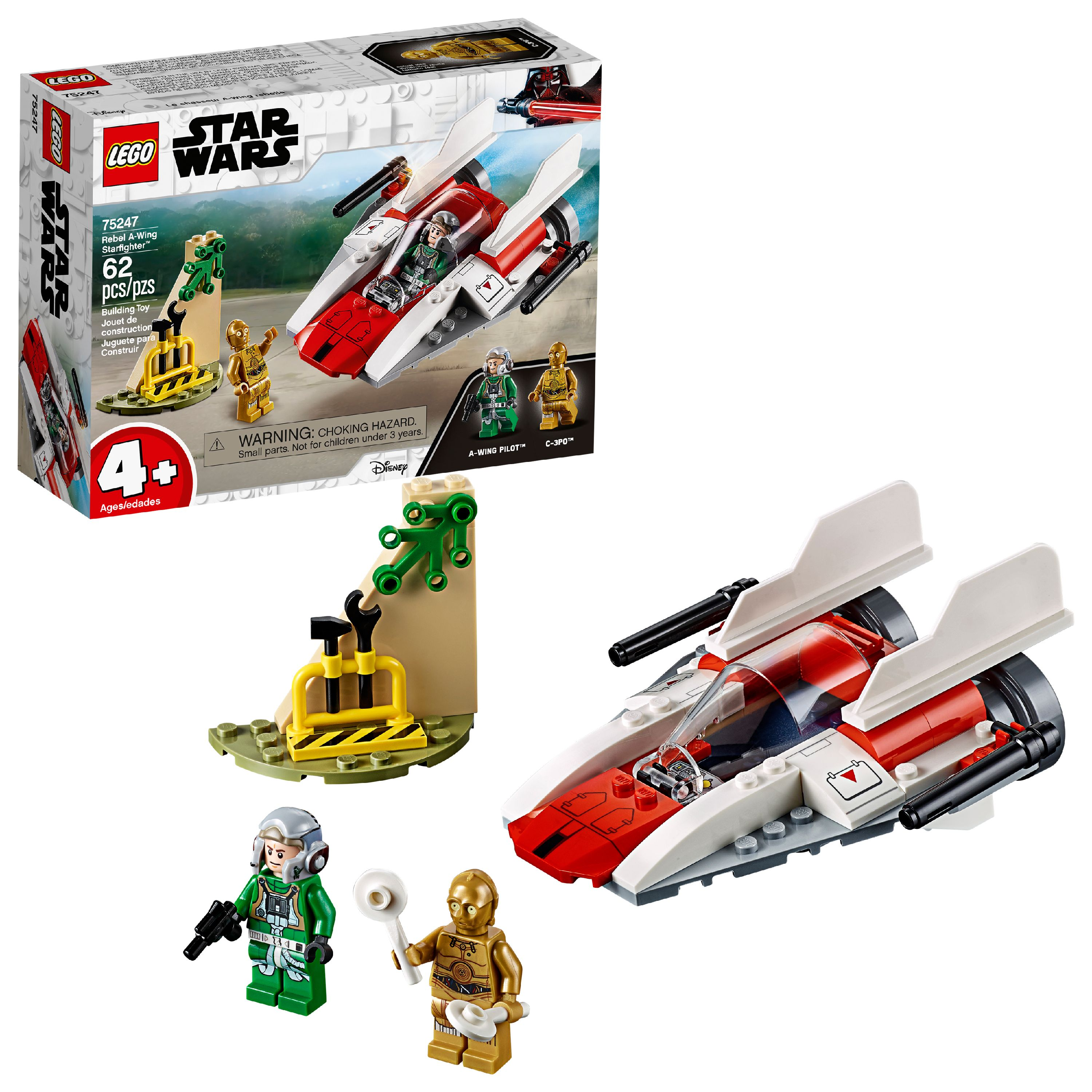 LEGO Star Wars TM Rebel A-Wing Starfighter 75247 Building Set