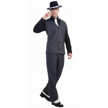 Mens 20's Gangster Halloween Costume - Gangster Halloween Costumes For Guys