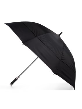 totesSunGuardVented One-touch Auto Open Golf Umbrella with Neverwet